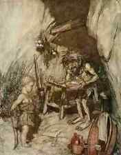 A4 photo Siegfried & le crépuscule des dieux 1924 3 imprimé Poster