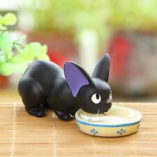 Ghibli Kiki's Delivery Service Jiji Black Cat Kitten Resin Figure