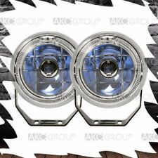"2 x Performance 4.5"" Round Fog Light Kit 7 Color LED For Off Road Truck Jeep"