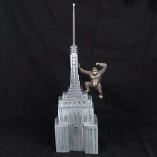 "King Kong Coin Bank NYC Collectible Handmade Cast Bronze Metal Nelles 15""H New"