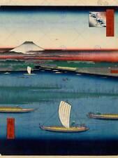 UTAGAWA HIROSHIGE JAPANESE POSTER 100 VIEWS EDO 067 ART PAINTING PRINT 2694OM