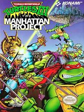 TMNT Teenage Turtles NES Video Game High Quality Metal Magnet 3 x 4 inches 9177