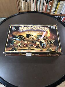 Hero Quest Board Game System With Extras L@@k!