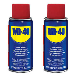 ( 2 Pack) WD-40 Multi-Use Product, 3 OZ Lubricant Free Shipping