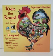 Sunsout Jigsaw Puzzle 1000 Special Shape -Rule The Roost