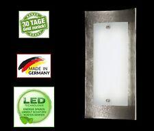 Fischer Shine 54711 Wandlampe Wandleuchte ALU Aluminium, Opal LED