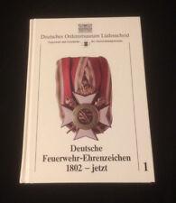 """"""" Deutsche Feuerwehr Ehrenzeichen 1802 - jetzt"""" Deutsches Ordensmuseum SEHR RAR!"""