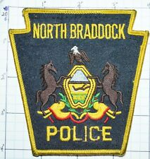 PENNSYLVANIA, NORTH BRADDOCK POLICE DEPT VERSION 2 PATCH