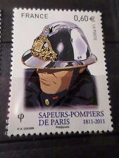 FRANCE 2011, timbre 4588 SAPEURS-POMPIERS, CASQUE ANCIEN, neuf**, MNH FIREMAN