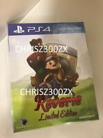 Reverie Limited Edition PS4 Sony Playstation 4 + Soundtrack + Number Region Free