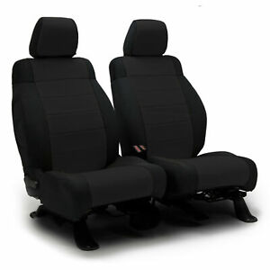 Coverking Premium Neosupreme Black Front Tailored Seat Covers for Nissan Titan