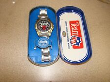 Chicago Bulls Fossil Watch, 1993 NFLP COLLECTORS WATCH AND TIN.