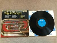 "The World of Brass Bands Vinyl LP Record 12"" Decca 1969 SPA.20"