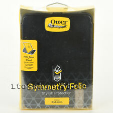 Otterbox SYMMETRY Folio iPad Mini 4 Leather Hard Book Case w/Stand Cover Black