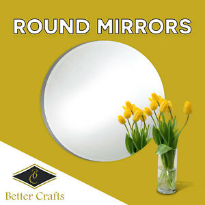 Round Glass Mirrors,Choose the Specific size and pack quantity!