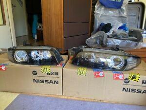 Nissan Skyline R33 GTR S3 Projector Headlights Rare JDM BCNR33 RB26 Xenon Nismo