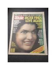 1977 The Star Tabloid Claudine Longet Jackie Onassis Steve McQueen Ali MacGraw