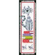 Vervaco Signet Kit Broderie Point de Croix avec Fil 6x20 cm Blanc KKPN0143914