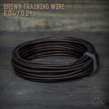 American Bonsai Brown Aluminum Training Wire - 6.0mm - 1 Kilogram - 40ft - 1k