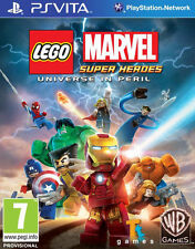 LEGO Marvel Super Heroes: Universe in Peril (Sony PlayStation Vita, 2013)