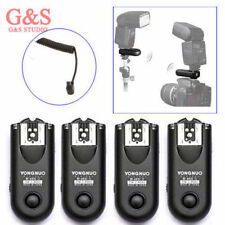 4pcs Yongnuo RF-603 II Radio Wireless Remote Flash Trigger C3 for Canon 5D 1D 50