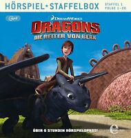 DRAGONS-DIE REITER VON BERK - STAFFELBOX 1 (FOLGE 1-20)   MP3 CD NEU