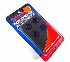 Traxxas #5353 Blue Anodized Wheel Nuts Splined 17mm x4 ACKTONN1