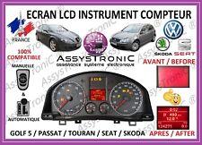 ECRAN LCD COMPTEUR petit ODB GOLF 5, TOURAN, PASSAT SHARAN, SEAT LEON, ALTEA