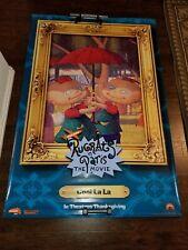 "Vintage Nickelodeon Rug Rats Vinyl Movie Banner 4' x 6' ""Cool La La"""