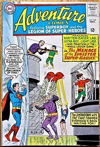 ADVENTURE COMICS #338  (1965)  DC COMICS - SUPERBOY!  *HIGH GRADE!*