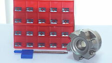 90° Eckfräser Messerkopf D050-Z6-022 +10 x Wendeplatten  APKT 1003PDER  P30-M30