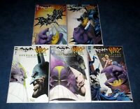 BATMAN the MAXX ARKHAM DREAMS 1 2 3 4 5 1st print A set IDW COMIC DC SAM KIETH