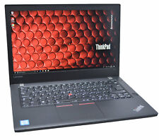 Lenovo Thinkpad T470 Full-HD IPS Business Laptop: 8GB, 2020 Warranty