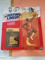 1988 Akeem Olajuwon Houston Rockets Starting Lineup Action Figure Kenner