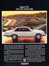 1977 Jaguar XJC Coupe XJ6 Vintage Advertisement Print Art Car Ad J826