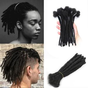"""8""""/20cm Hippies Dreadlocks 100% Human Hair Locs SE Dreads Crochet Hair Extension"""