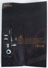 Konica Hexar Brochure
