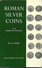 ROMAN SILVER COINS VOL.IV GORDIAN III - POSTUMUS - H.A. SEABY - 1971