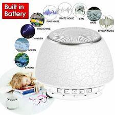 Mini Deep Sleep Machine White Noise Baby Therapy CORDLESS 12 Peace Nature Sound