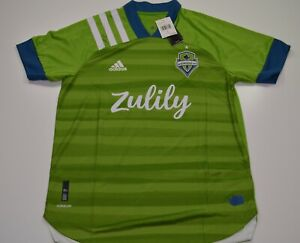 Adidas Seattle Sounders FC Home Jersey Green Authentic Size Large $130