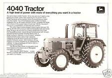 Farm Tractor Brochure - John Deere - 4040 - c1978 (F2111)
