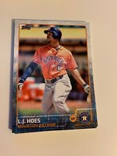 2015 Topps Series 2 #365 L.J. Hoes Houston Astros