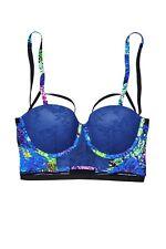 Victoria's Secret x Mary Katrantzou Lingerie Bra Fashion Show Blue, 36C
