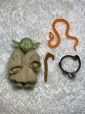 Star Wars Vintage Yoda Orange Snake Cane Belt 1980 Hong Kong COO Complete Nice