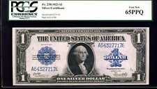 1923 $1 Silver Certificate Fr. 238 Gem New 65PPQ PCGS #A64327717E