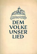 Kunze, al pueblo nuestra canción, discursos documentos ensayos personales V. coro-Comité rda, 1956