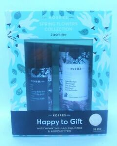 Korres Spring Flowers Collection Shower Jasmine Gel & Body Oil Anti-Aging