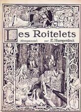 partition Humperdinck, Les Roitelets (Königskinder)