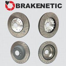 [FRONT+REAR] BRAKENETIC PREMIUM GT SLOTTED Brake Disc Rotors 390mm BPRS95567