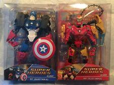 Super Heroes Alliance- Captain (Captain America) & Knight (Iron Man) Mib